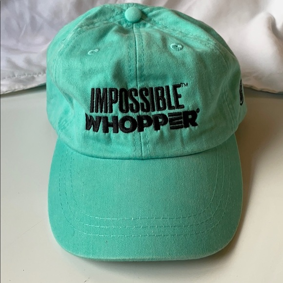 Burger King impossible whopper hat